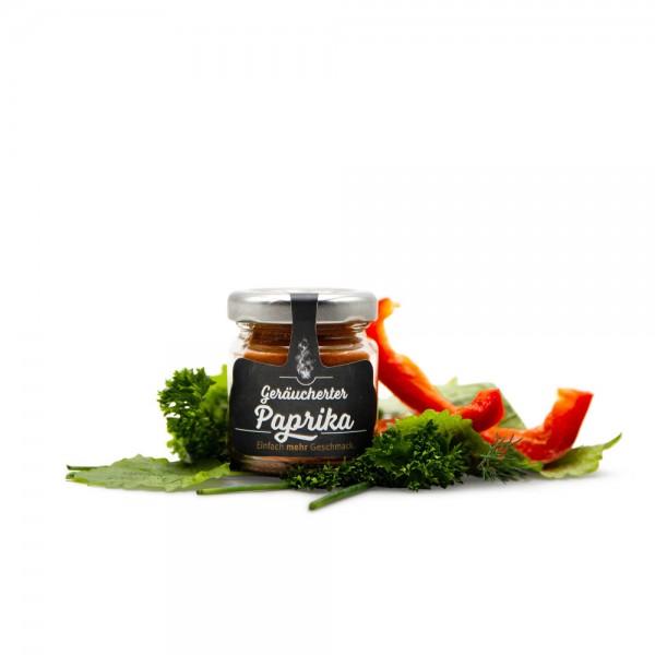 Geräucherte Paprika edelsüß gemahlen - im Glas 20 g