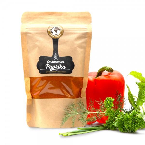 Geräucherte Paprika edelsüß gemahlen - Tüte 130 g